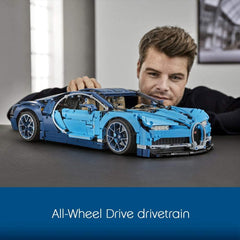 LEGO 42083 Technic Bugatti Chiron Super Sports Car Exclusive Collectible Model, Advanced Building Set - TOYBOX Cyprus