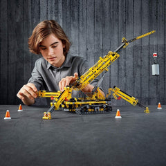 LEGO 42097 Technic Compact Crawler Crane and Tower Crane, 2 in 1 Spiderlike Model, Construction Set - TOYBOX Toy Shop