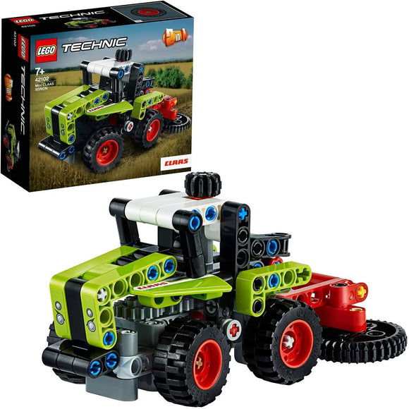 LEGO 42102 Technic Mini CLAAS XERION Tractor to Harvester - TOYBOX Toy Shop