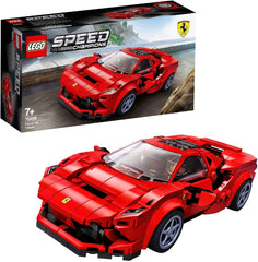 LEGO 76895 Speed Champions Ferrari F8 Tributo Racer Toy - TOYBOX Toy Shop
