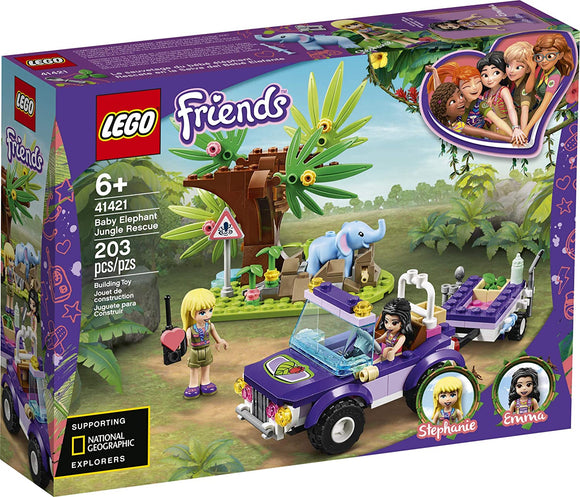 LEGO Friends 41421 Baby Elephant Jungle Rescue Playset - TOYBOX Toy Shop