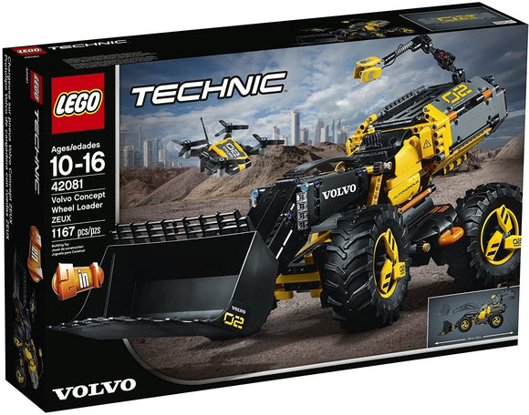 LEGO Technic 42081 – Volvo Concept Wheel Loader Zeux - TOYBOX Toy Shop