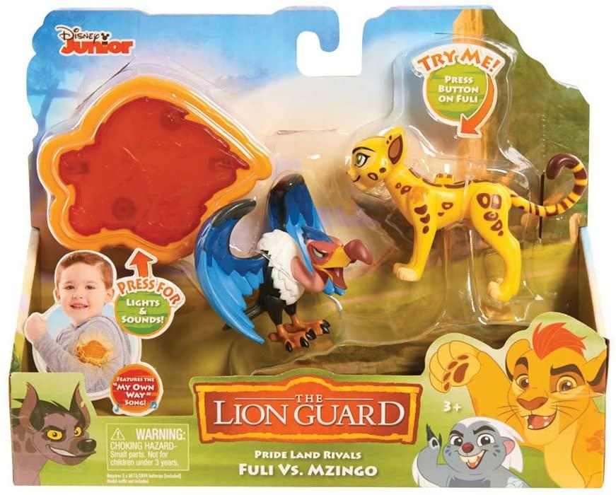 Lion Guard Action Figure 2 Pack with Arm Band - Fuli vs Mzingo - TOYBOX Cyprus