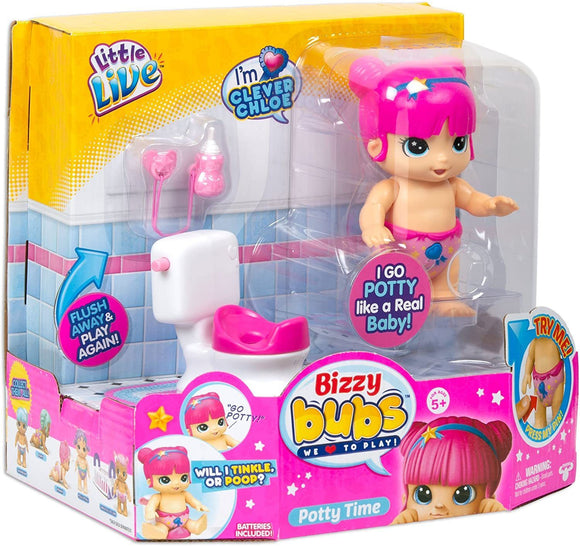 Little Live Bizzy Bubs Potty Time Playset Little Live Bizzy Bubs