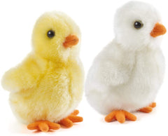 Living Nature Soft Toy - Plush Fluffy Chick (12cm) - TOYBOX Toy Shop