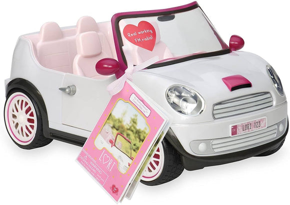 LORI Dolls Go Everywhere! Convertible Car for 6-inch Mini Dolls - TOYBOX Toy Shop