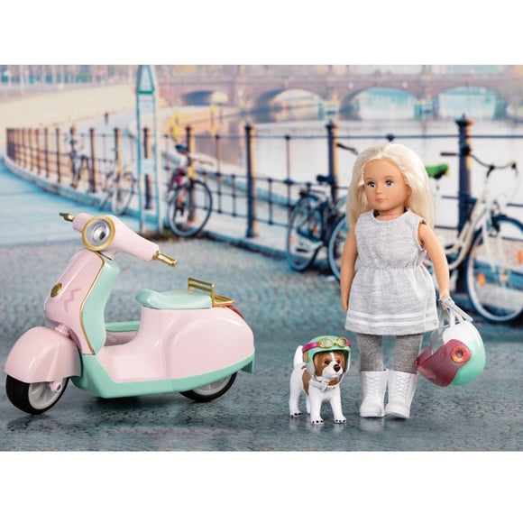 LORI Let's Go For A Spin Scooter Playset - TOYBOX Toy Shop