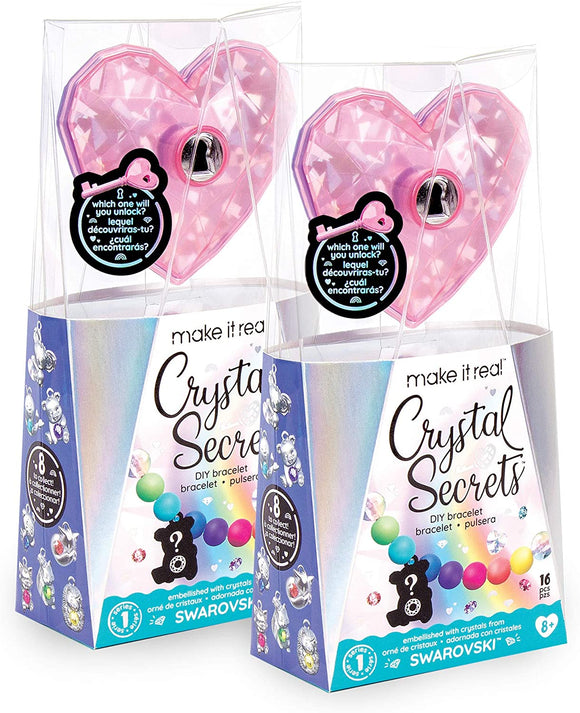 Make It Real 1711 Crystal Secrets Single Treasure Pack - TOYBOX Toy Shop