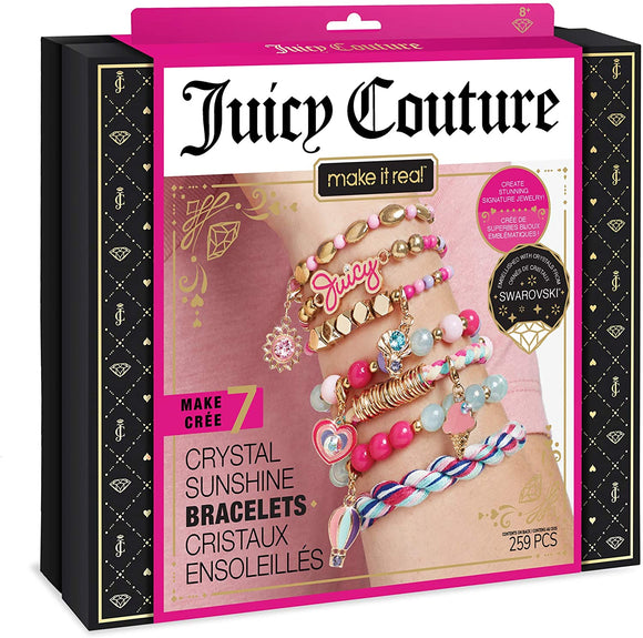 Make It Real 4409 - Juicy Couture Crystal Sunshine Bracelets - TOYBOX Cyprus