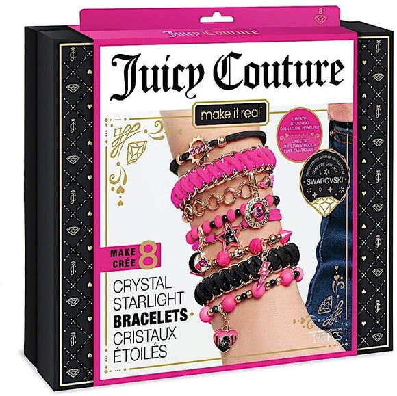 Make It Real 4410 - Juicy Couture Crystal Starlight Swarovski Bracelets - TOYBOX Toy Shop