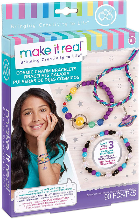 Make It Real Cosmic Charm Bracelets Jewellery Making Set Arts & Crafts Make it Real