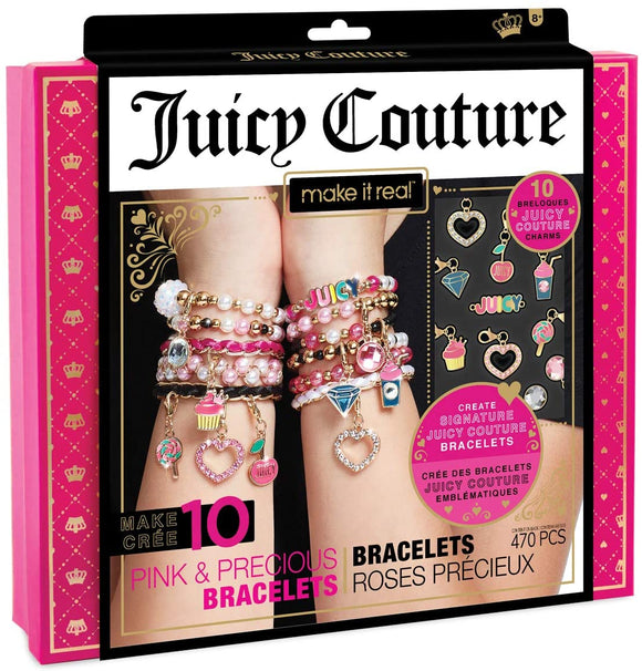 Make It Real Juicy Couture Gorgeous Pink Bracelets - TOYBOX Toy Shop