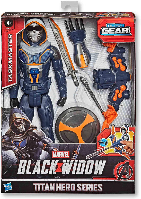 Marvel Black Widow Titan Hero Series Blast Gear Taskmaster Action Figure 30 cm - TOYBOX Cyprus