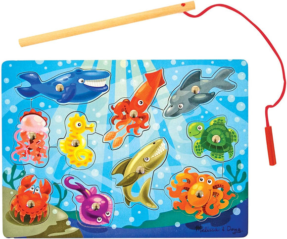 Melissa & Doug 13778 Fishing Magnetic Puzzle Game - TOYBOX Cyprus