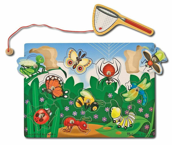 Melissa & Doug 13779 Bug-Catching Magnetic Puzzle Game - TOYBOX Cyprus
