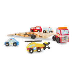 Melissa & Doug 14610 Emergency Vehicle Carrier - TOYBOX Toy Shop