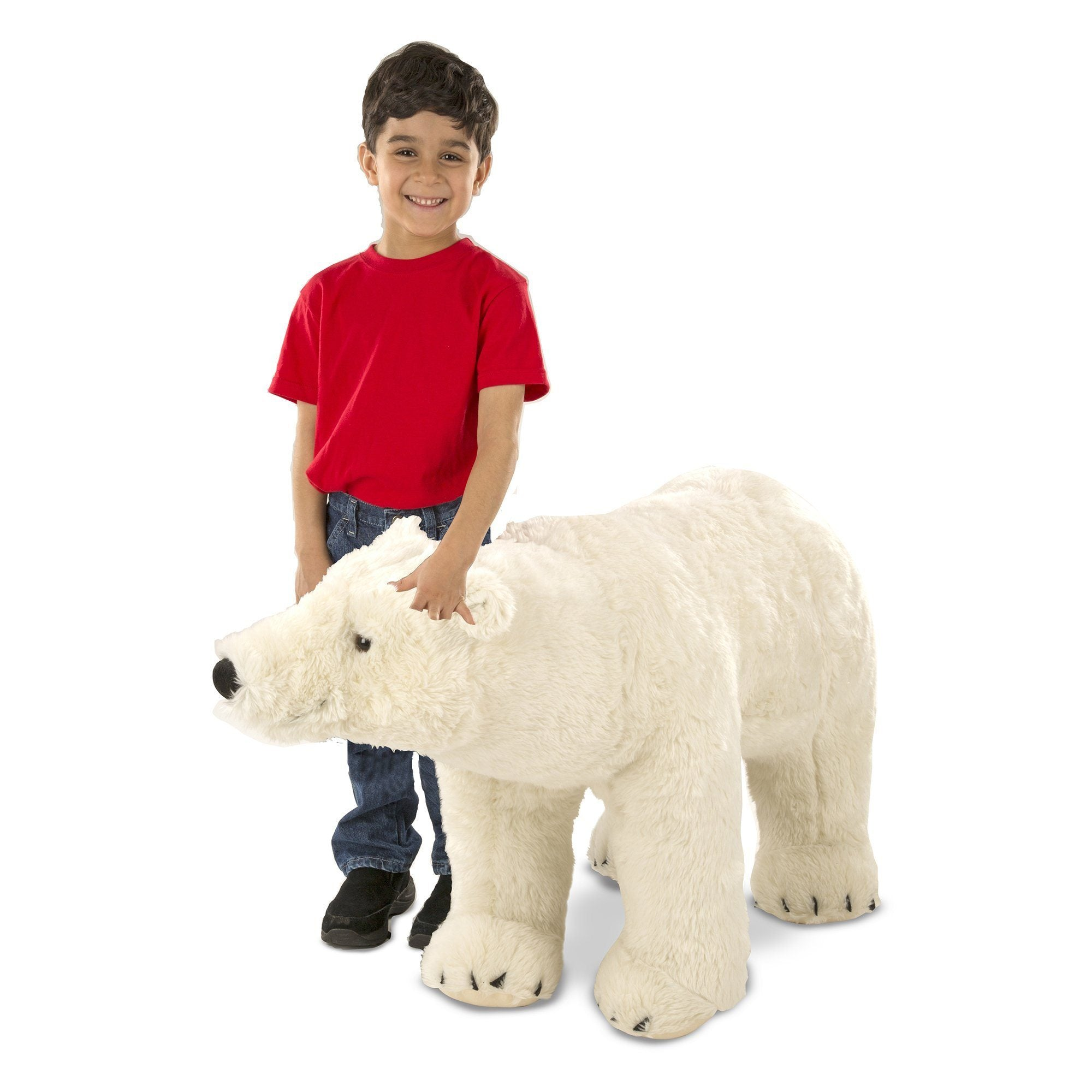 Melissa & Doug 18803 Giant Stuffed Animal Polar Bear - TOYBOX Cyprus