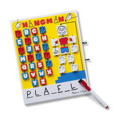 Melissa & Doug 2095 Flip-to-Win Hangman Travel Game - TOYBOX Toy Shop