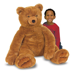 Melissa & Doug 2138 Jumbo Brown Teddy Bear - TOYBOX Toy Shop