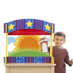 Melissa & Doug 2536 Tabletop Puppet Theatre - TOYBOX Toy Shop