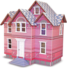 Melissa & Doug Classic Heirloom Victorian Wooden Dollhouse - TOYBOX Toy Shop