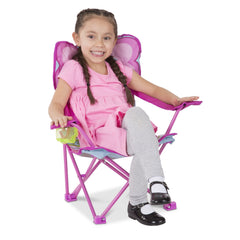 Melissa & Doug Cutie Pie Butterfly Camp Chair 6693 - TOYBOX Toy Shop