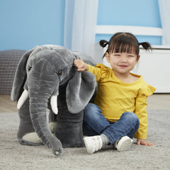 Melissa & Doug Elephant Giant Stuffed Animal 2185 - TOYBOX Cyprus