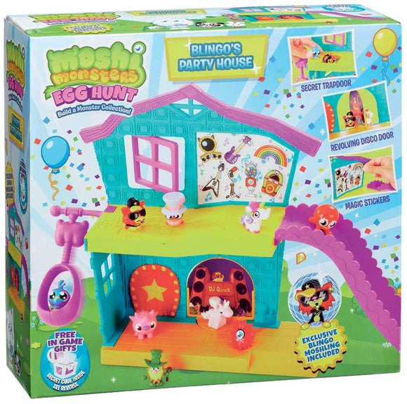 Moshi Monsters MHN01000 Blingos Party House Playset Moshi Monsters