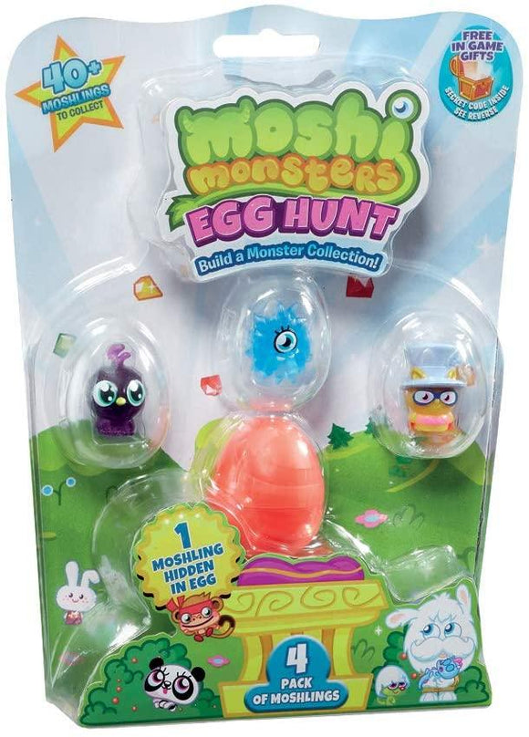 Moshi Monsters MHN02000 Egg Hunt Playset Moshi Monsters
