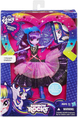 My Little Pony Equestria Girls Rainbow Rocks Deluxe Dress Twilight Sparkle Doll - TOYBOX Cyprus