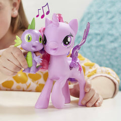 My Little Pony Princess Twilight Sparkle Spike the Dragon Friendship Duet Interactive My Little Pony