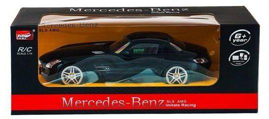MZ Mercedes Benz SLS AMG Remote Controlled RC Car - Black - TOYBOX Cyprus