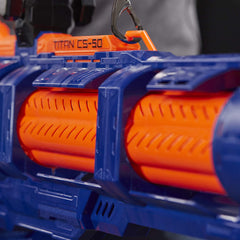 Nerf Elite Titan CS-50 Toy Blaster – Fully Motorised, 50-Dart Drum - TOYBOX Toy Shop