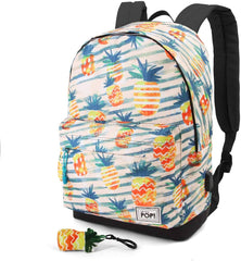 Oh My Pop Ananas-HS Backpack School Daypack, 42 cm - TOYBOX Cyprus