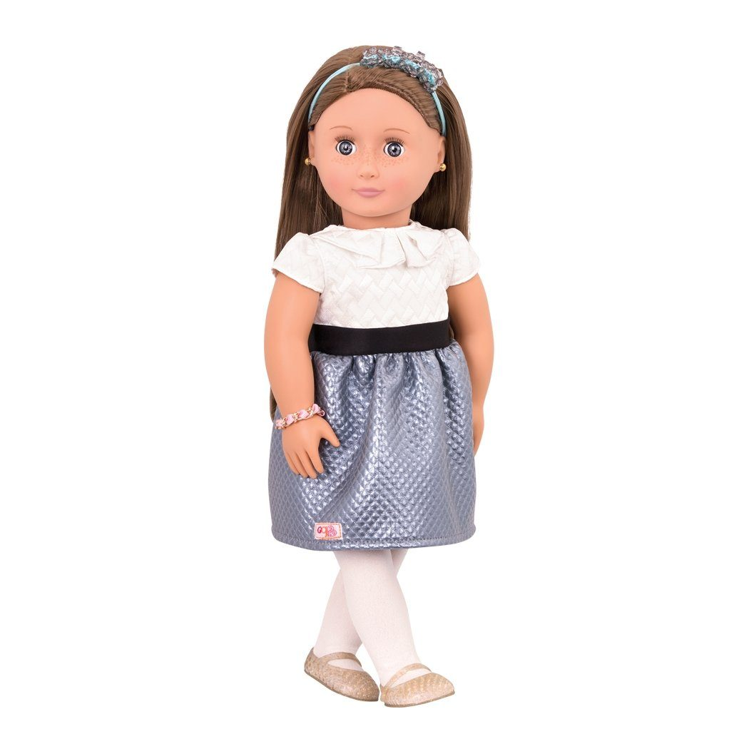 Our Generation BD31166 Aliane Doll 18-inch - True Gem - TOYBOX Cyprus