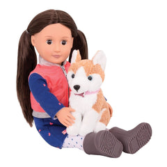 Our Generation BD31201 Doll Leslie and Husky 18-inch - TOYBOX Toy Shop