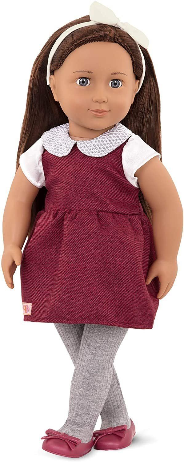 Our Generation BD40501 Doll Milana 18-inch Dolls Our Generation