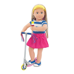 Our Generation Dolls Cute to Scoot Outfit BD30200 Dolls Our Generation