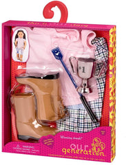 Our Generation Dolls Winning Streak Regular Riding Outfit BD30290Z Dolls Our Generation