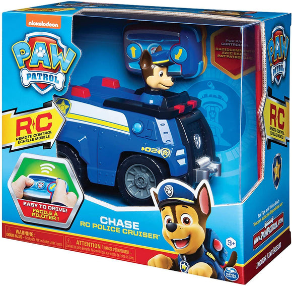 Paw Patrol 6054190 Chase Remote Control Police Cruiser with 2-way Steering - TOYBOX Cyprus