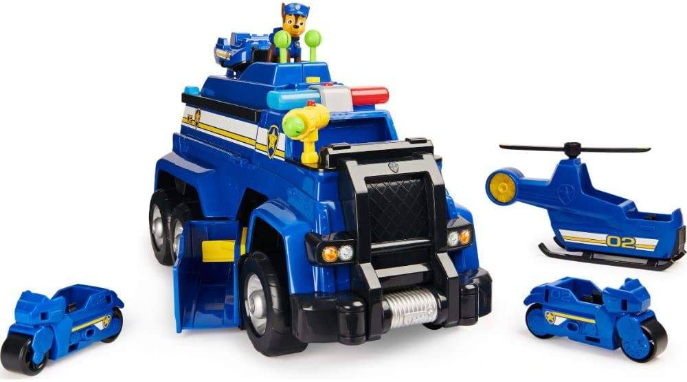 New Paw Patrol 5-in-1 Chase/'s Ultimate Police Cruiser