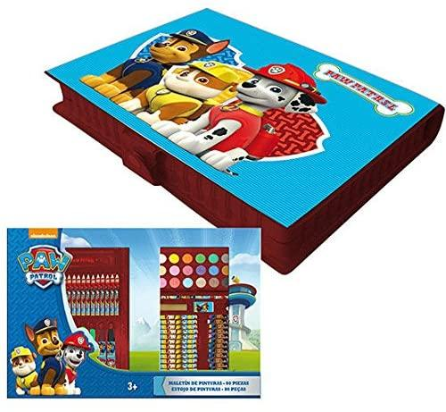Paw Patrol 80 Piece Colouring & Painting Set - TOYBOX Cyprus