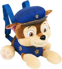Paw Patrol Chase Character Plush Backpack 37cm - TOYBOX Toy Shop