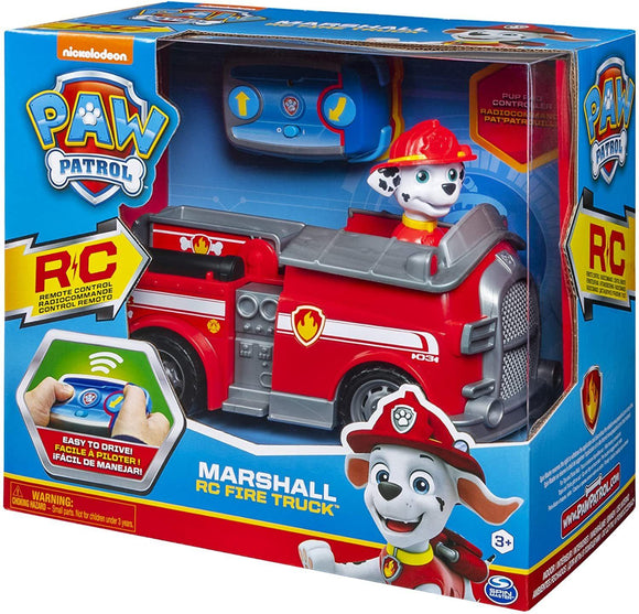 PAW Patrol, Marshall Remote Control Fire Truck with 2-Way Steering, for Kids Aged 3 and Up - TOYBOX Cyprus