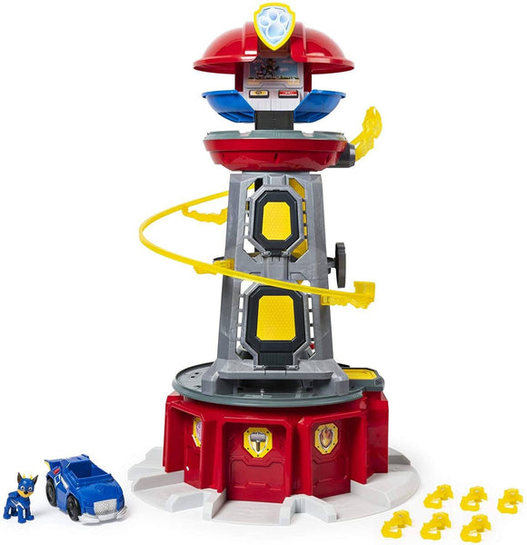 PAW Patrol Mighty Pups Super PAWs Lookout Tower Playset with Lights and Sounds - TOYBOX Cyprus
