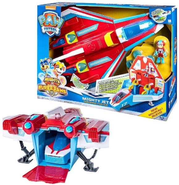 PAW Patrol Super PAWs Mighty Jet Command Center - TOYBOX Cyprus