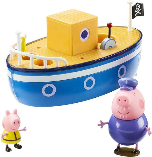 Peppa Pig 05060 Grandpa Pig's Bath Time Boat - TOYBOX Toy Shop