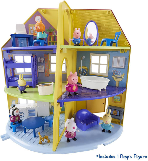 Peppa Pig 06384 Peppa's Family Home Playset - TOYBOX Toy Shop