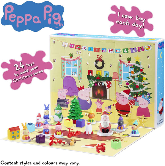 Peppa Pig 07136 Advent Calender - TOYBOX Toy Shop