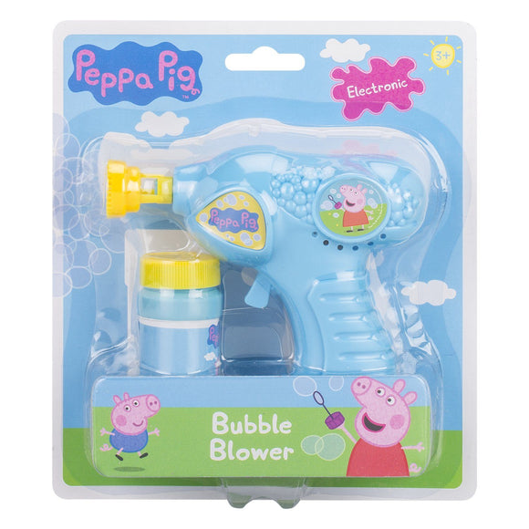 Peppa Pig Bubble Gun Blaster Outdoor Peppa Pig